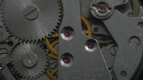Clock mechanism Live Action