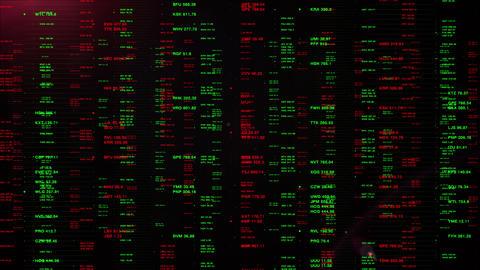 Virtual Display Monitoring Financial Stock Market Prices GIF
