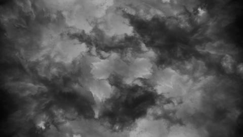 Dark cloud background of stormy sky or texture フォト
