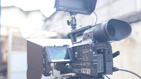 Video camera Footage