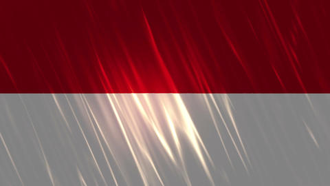 Indonesia Flag Loopable Background Animation