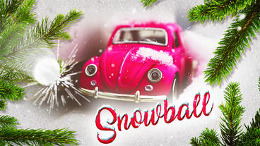 Christmas Slideshow - Snowball After Effects Template