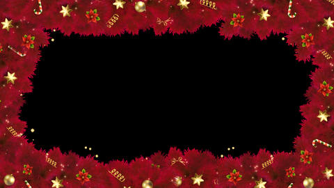 Cascade Red Frame Alpha Animation