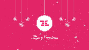 Christmas Logo Reveals After Effects Template