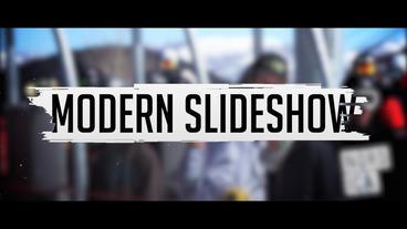 Modern slideshow project Premiere Proテンプレート