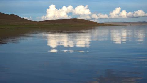 Mongolian Lake Telmen Lake ビデオ