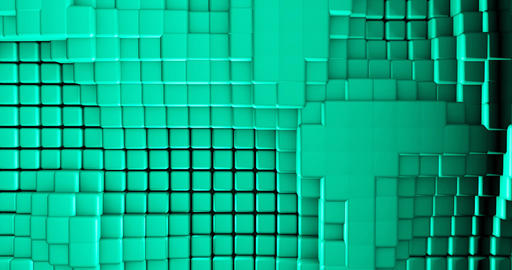 Abstract Cube Background Looping Live Action