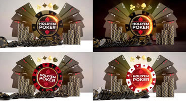 Poker Night Logo Reveals Premiere Pro Template