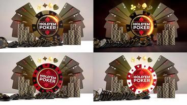 Poker Night Logo Reveals Premiere Proテンプレート