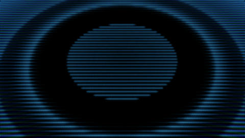Futuristic circle background.Blue energy ring Videos animados