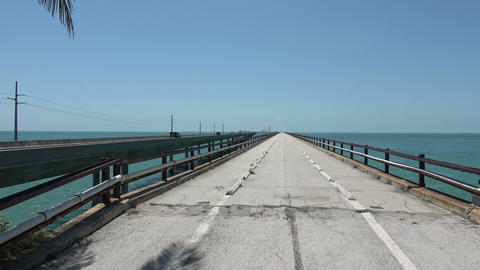 The Bridges conneting the Keys in South Florida Footage