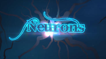 Neurons - Flashing Neuron Network Logo Stinger After Effectsテンプレート