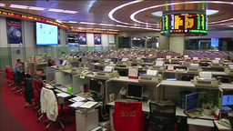 Hong Kong Stock Exchange Footage