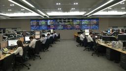 DEALING ROOM AT KOREA EXCHANGE BANK Footage