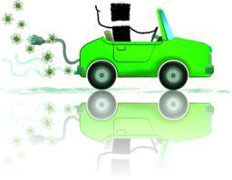 Eco car ベクター