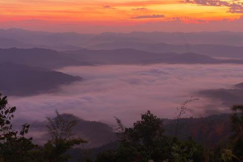 Mountain and mist Si Nan National Park doi samer dao thailand Photo
