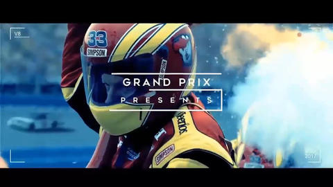 Grand Prix Legends - Auto Sport After Effects Template