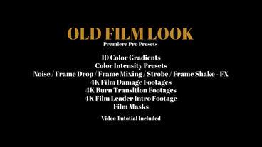 Old Film Look Premiere Pro Preset