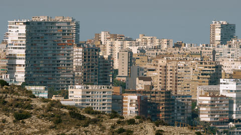 A part of Alicante residential area Live Action