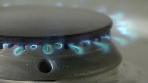 Gas stove Footage
