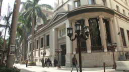 Egypt Stock Exchange Exterior stock footage