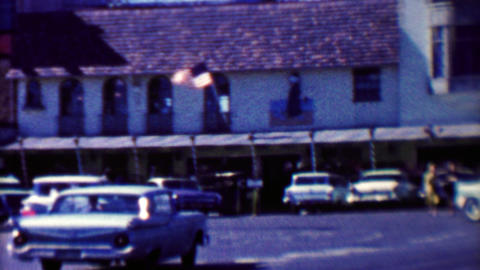 1961: Famous Fisherman's Wharf restaurant historic Alioto's Seafood Footage