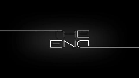"""the End"" Titles Animation Animation"