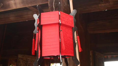 The Traditional lantern in asia Live Action