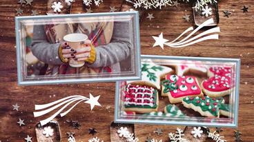 Christmas Portrait Premiere Pro Template