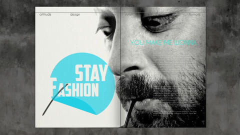 Fashion Magazine Show After Effects Template