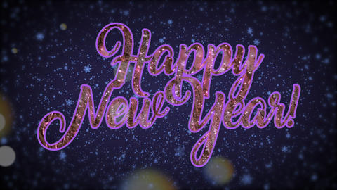 New Year Background Animation