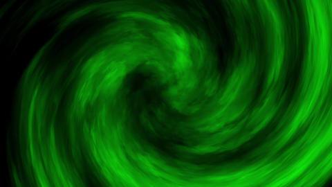 Green Smoke Fog Clouds Vortex Loop Motion Background Animation