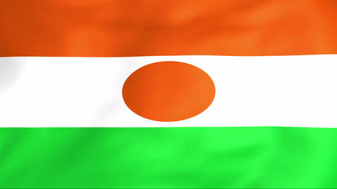 Flag Of Niger Animation