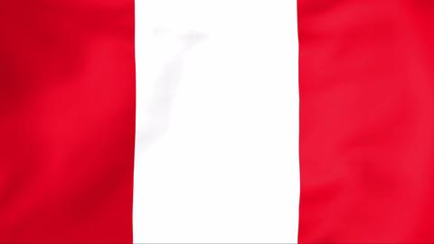 Flag Of Peru Animation