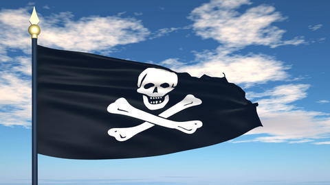 Pirate flag, Jolly Roger Animation