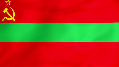 Flag Of Transnistria Animation