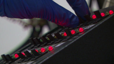 Unit with LEDs Stock Video Footage