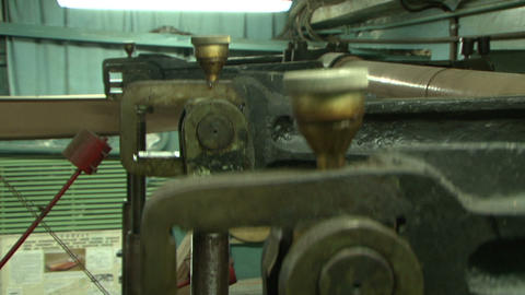 Connecting rod Stock Video Footage