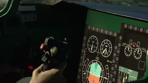 The wheel plane Stock Video Footage