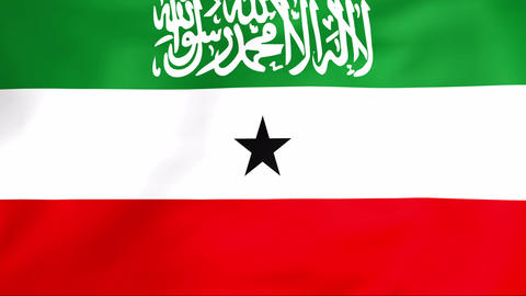 Flag Of Somaliland Animation