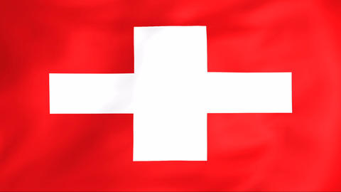 Flag Of Switzerland Animation