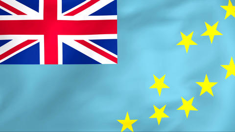 Flag Of Tuvalu Animation