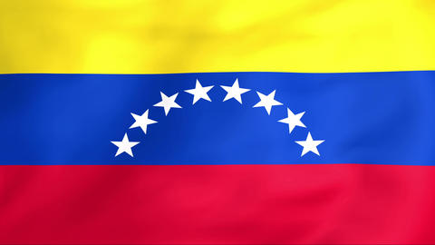 Flag Of Venezuela Animation