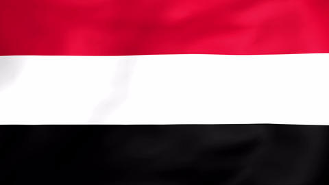 Flag Of Yemen Animation