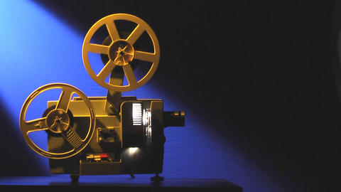 Film Projector Loop stock footage