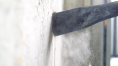 Hammer drill Footage