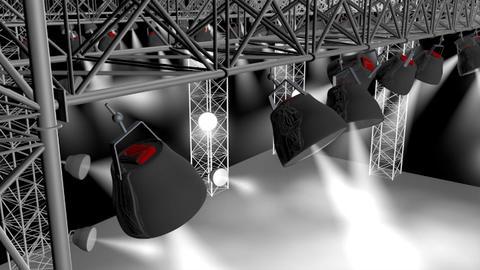 Concert Stage 3D Model 3D Model