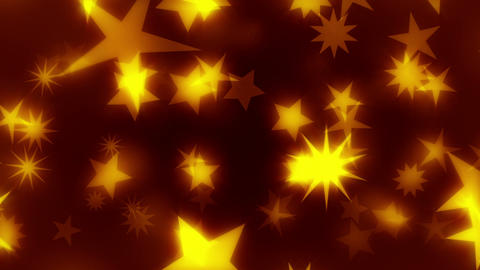 ChriStars - Star / Christmas Video Background Loop Stock Video Footage