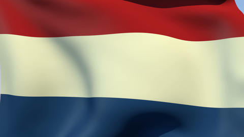 Flag of Netherlands Animation