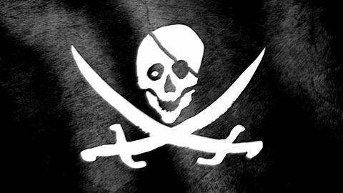 Jolly Roger Stock Video Footage